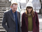 Lake Bell gets Simon Pegg to Man Up in the trailer for their bawdy new comedy