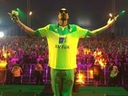 Snoop Dogg performs in Norwich football shirt at Radio 1's Big Weekend