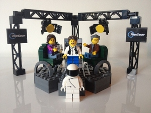 Lego Top Gear set