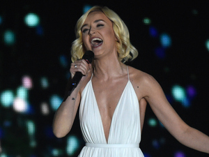 Eurovision Song Contest 2015, Polina Gagarina of Russia performs 'A Million Voices'
