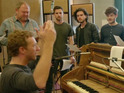 Kit Harington and Emilia Clarke sing for Coldplay's Game of Thrones stage musical.
