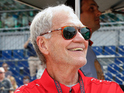 David Letterman at the Indianapolis 500, May 2015