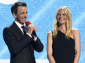 Seth Meyers, David Duchovny and Jane Krakowski host a night of good-humoured fundraising.