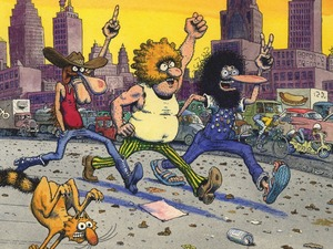 The Sequential Guide to Gilbert Shelton's Fabulous Furry Freak Brothers