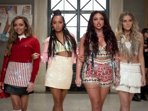 Little Mix 'Black Magic' music video.