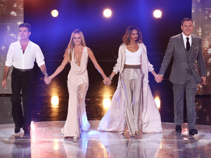 The Judges on stage for the third live semi-final show of Britain's Got Talent 2015