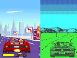 Out Run - arcade and Spectrum