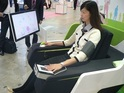Futuristic 'Cockpit' monitors body mass, blood pressure and blood sugar levels.