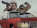 Powerpuff Girls cartoonist Troy Little tackles the trippy Hunter S Thompson classic.