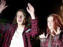 Jesse Eisenberg and Kristen Stewart in American Ultra red band trailer