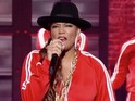 Queen Latifah 'rocks the bells' while taking on Marlon Wayans on Lip Sync Battle.
