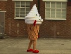 Damon Albarn is a giant ice cream in Blur's 'Ong Ong' music video