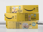 Minions take over Amazon shipping packaging in first ever branding deal