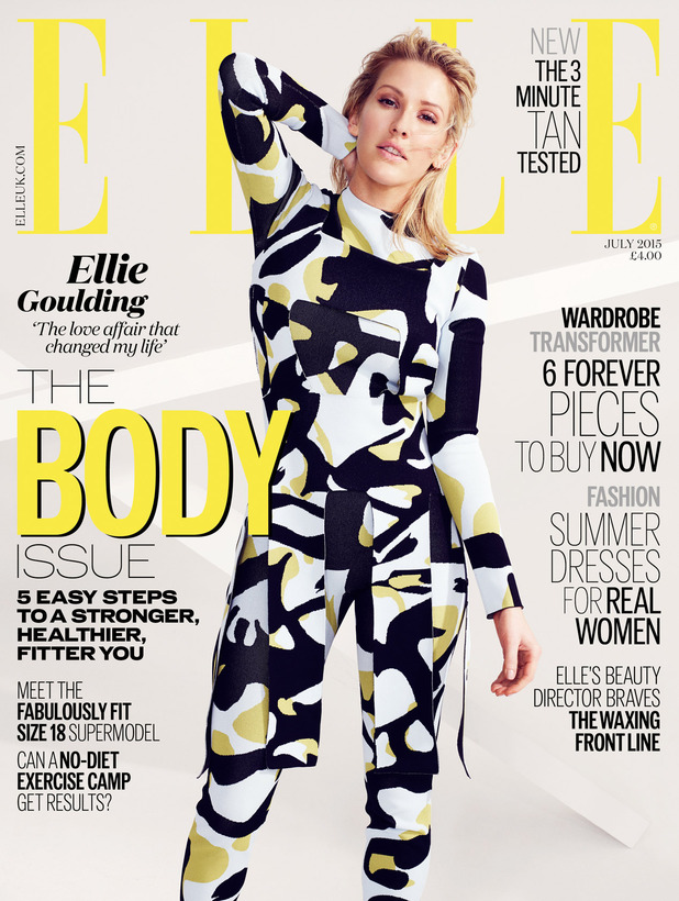 Ellie Goulding for Elle UK July '15