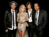 James Shaw, Emily Haines, Joules Scott-Key and Joshua Winstead of Metric