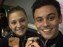 Tom Daley wins bronze for Mixed Synchro 3m Springboard
