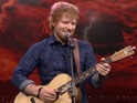 The singer-songwriter proves his rock god credentials on The Tonight Show.