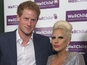 When Harry met Gaga: Prince hugs popstar