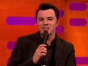 Seth Macfarlane does Griffin family voices to Cyndi Lauper's classic hits.