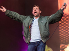 Damon Albarn is 'Out of Time': Blur star carried off stage after refusing to end set