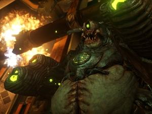 DOOM E3 screenshot