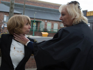 Gail and Eileen fight