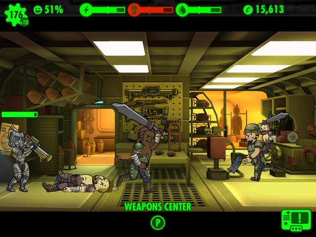 Fallout Shelter App Fallout Shelter Ios Screenshot