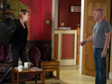 Shirley will refuse to forgive Buster tonight as the effects of Carol's bombshell revelation are felt.