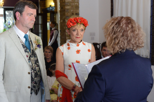 Jean and Ollie get married