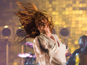 Florence on fire for headline Glastonbury set