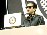 Mark Ronson performs at the Glastonbury Festival at Worthy Farm, Pilton on June 26, 2015 in Glastonbury, England.
