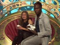 Brian Belo has chosen to leave Big Brother and Nikki Grahame is not happy about it.