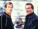 Roger Moore and Patrick Macnee in A View To A Kill