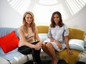 Rochelle Humes and Tess Daly chat their brand new AOL series Being Mom.