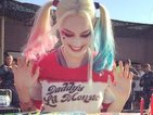 Suicide Squad's Margot Robbie celebrates turning 25 with a Harley Quinn birthday cake