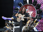 See Dave Grohl's awesome guitar throne