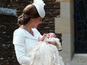 Princess Charlotte christened in Norfolk