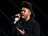 The Weeknd and Alicia Keys at the BET Awards