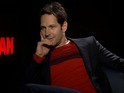 Paul Rudd blames his flatulence on a leather chair - but we're not buying it.