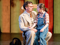 House star wins rave reviews in the Barbican's production of Harper Lee's novel.