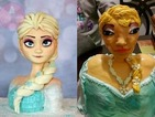 This little girl's Frozen cake ended up looking nothing like Queen Elsa