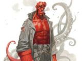 Paolo Rivera draws Hellboy