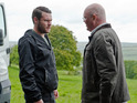 Paddy tells Aaron that Robert tried to kill him in Tuesday's episode.