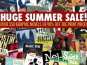 The iPad digital comics app is offering up to 90% off on 350+ titles.