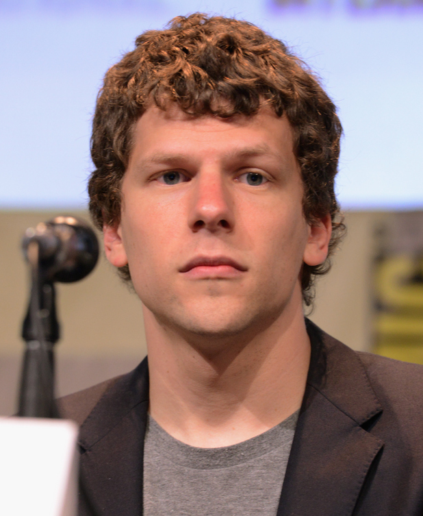Jesse Eisenberg at the Warner Bros. presentation during Comic-Con International 2015 - movies-comic-con-2015-jesse-eisenberg-02