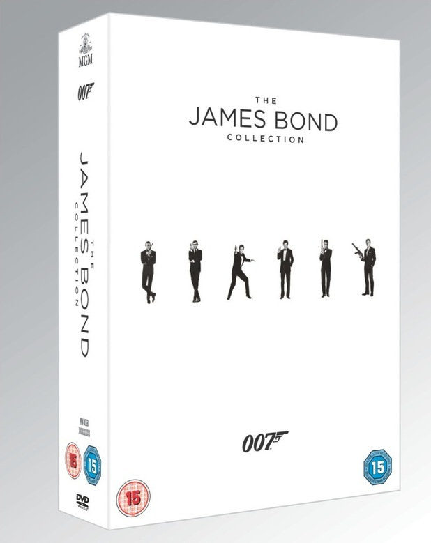 All 23 James Bond movies get a special edition Blu-ray and DVD ...
