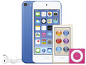 The iPod has been resurrected with a new iPod touch and new nano and shuffle colours launched.