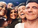 Singer posts hilarious picture with her fellow The X Factor judges.