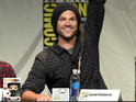 The Supernatural actor was overwhelmed after fans lit up Hall H at Comic-Con.