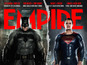 Batman v Superman take over magazine